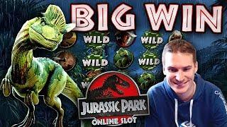 BIG WIN on Jurassic Park Slot - £7.50 Bet