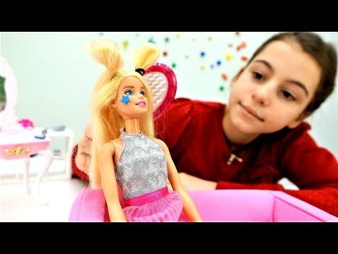 Прическа и макияж💄 для #Барби вместе с #лучшаяподружкаВика👯