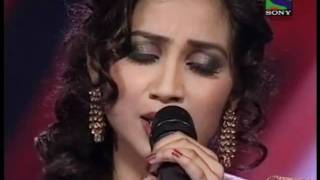 xfactor shreya ghoshal singing lag ja ga...