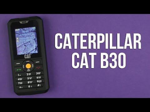 Распаковка Caterpillar CAT B30 Dual Sim Black