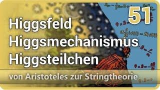 Higgsfeld • Higgsmechanismus • Higgsteilchen • Aristoteles zur Stringtheorie (51) | Josef M. Gaßner