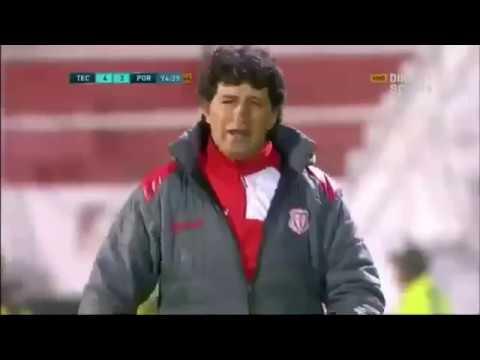 Así narró Sebastián Núñez el gol del campeonato de Técnico Universitario