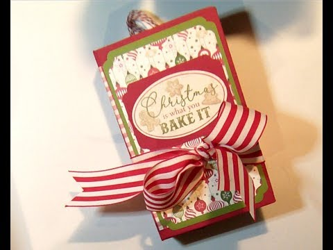 SOLD!! - EPHEMOIRE - Christmas Holiday Baking Mini Album - Christmas Mini Album - Album - Baking