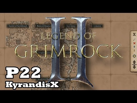 Legend of Grimrock 2 - HARD - P22: The Archives, Storage and Crystal Mines, spiders!