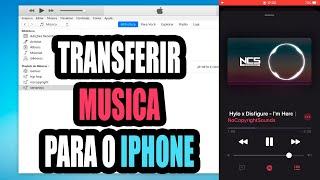 Como passar musica do pc para o iphone