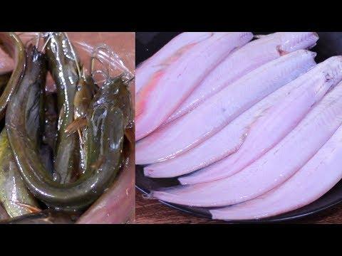 শিং মাছ পরিষ্কার করার সহজ পদ্ধতি | মাজা ঘষা ছাড়া শিং মাছ পরিষ্কার | Cat Fish Clean And Cutting