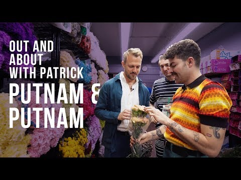 Putnam Flowers: NYC Florists Show Me The New York City Flower Market | Out And About With Patrick