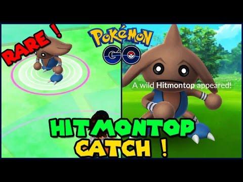 how to get hitmontop pokemon go