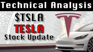 TSLA : Tesla - Gap Up and Consolidation, Double Top still in Play 8-9-21