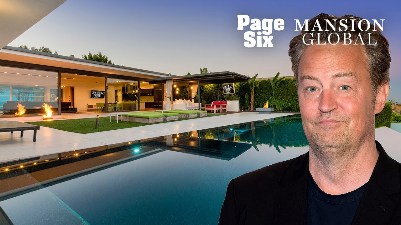 Matthew Perry Is Selling His Hollywood Home For A Friendly $13M | Page Six