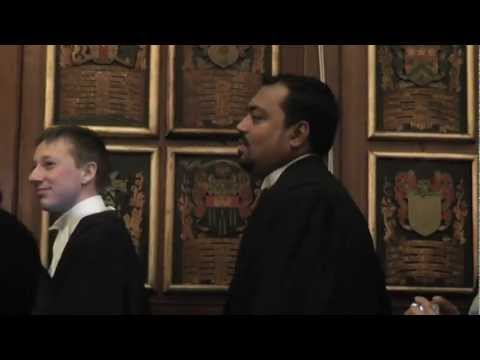 Barrister Osman's Call to the Bar Ceremony at Gray's Inn, 22-11-12