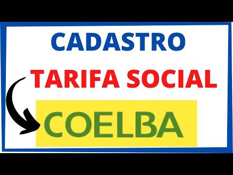 COELBA TARIFA SOCIAL: CADASTRAR TARIFA SOCIAL COELBA