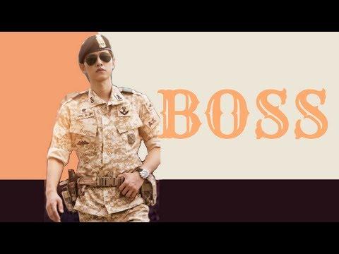 | BOSS | Captain Yoo Shi Jin | Song Joong Ki | Descendants of the Sun | Korean Mix