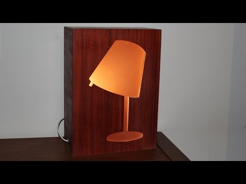Wood Lamp Shade - Exclusive Design