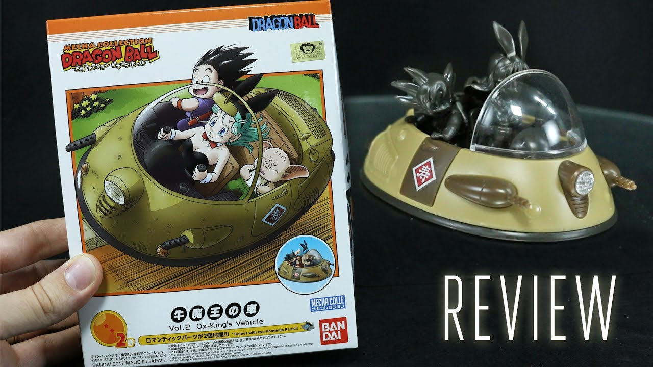 Mecha Collection Dragon Ball Vol.3 Lunch/'s wheel Motorcycle Bandai Japan NEW ***