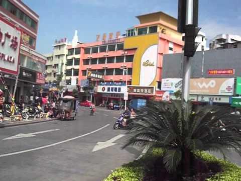 Arrival in Kaiping   China   November 2012