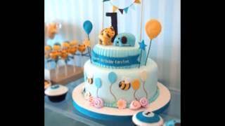 baby boy 1st birthday cake photos