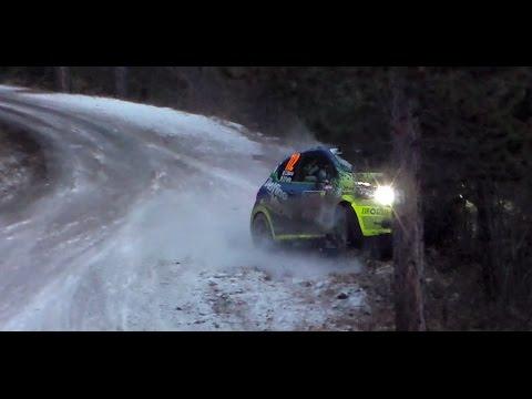 WRC Rallye Monte Carlo 2017 - BIG CRASH MISTAKES & MAX ATTACK