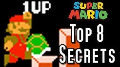 Super Mario Bros TOP 8 SECRETS (NES)