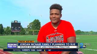 Jordan McNair Family Planning To Sue