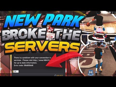 NEW PARK BROKE THE SERVERS IN NBA 2K18 OMG • WHY IS NBA 2K18 SO BROKEN?? • WORST 2K EVER??
