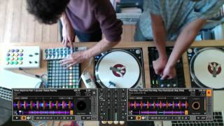 Ableton + Traktor DJ Performance Techniques Together