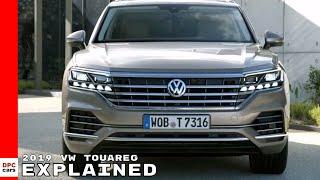 2019 VW Touareg Explained - Volkswagen