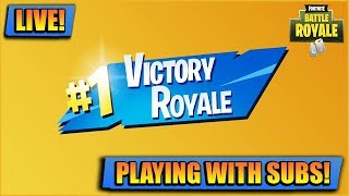 LIVE OPEN LOBBY // FORTNITE LIVE // PLAYING WITH SUBS LIVE XBOX [STREAM]