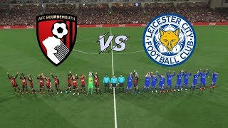 Bournemouth vs Leicester City | Premier League 18/19 | Matchweek 5 | Gameplays PC