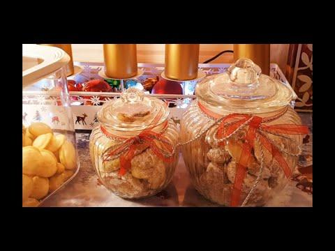 Рождественское печенье !Weihnachtsplätzchen!Vanillekipferl..Haselnuss Makronen.часть 2!