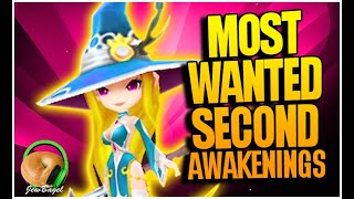 MOST WANTED SECOND AWAKENINGS! (Viewer Poll) - Summoners War