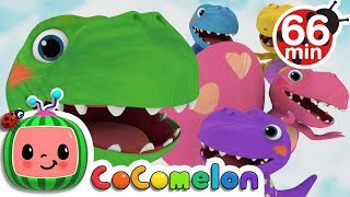 Five Little Dinosaurs | +More Nursery Rhymes & Kids Songs - CoCoMelon