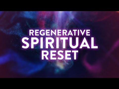 Regenerative Spiritual Reset  111Hz, 222Hz, 444Hz, 888Hz  Deep Healing Meditation
