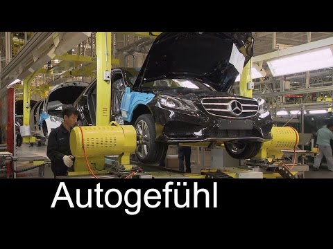 Mercedes production manufacturing plant in China, Beijing Benz Automotive - Autogefühl