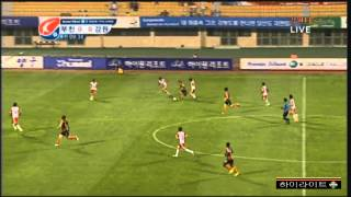 K리그 챌린지 12라운드 강원FCvs부천FC1995 하이라이트