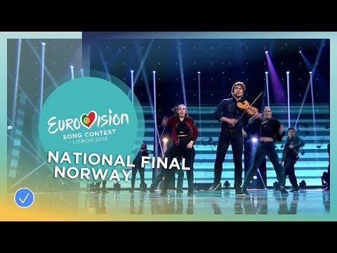 Alexander Rybak  Thats How You Write A Song  Norway  National Final Performance