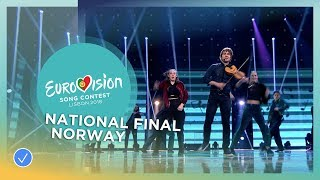 Alexander Rybak - That's How You Write A Song - Norway - National Final Performance