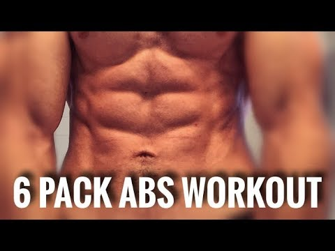 10 MIN  6 PACK ABS WORKOUT! REAL SIX PACK DEVELOPMENT