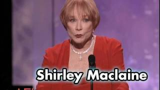 "Shirley Maclaine Calls Meryl Streep ""Other-Wordly"""