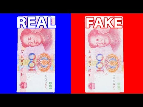 How to Detect Counterfeit Chinese Yuan(Renminbi)