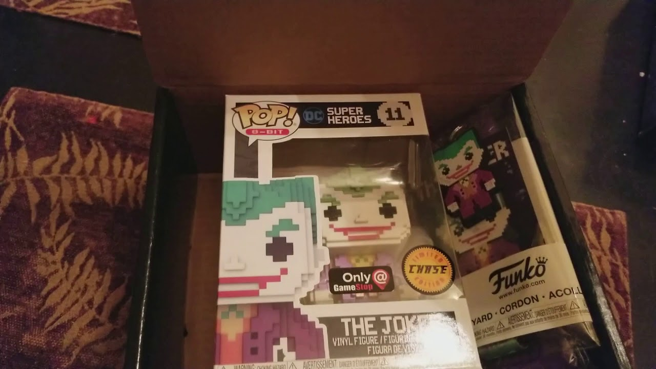 Gamestop Black Friday Funko Pop Mystery Box Unboxing 2017