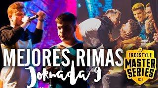 Las MEJORES RIMAS de la NOVENA JORNADA de la FMS ESPAÑA | Jornada 9 FINAL - FMS Valencia ¡LA MEJOR!
