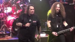 Exodus - Metal Command & Piranha Live @ Sticky Fingers, Gothenburg 2016