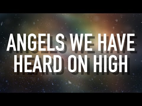 Angels We Have Heard On High - [Lyric Video] Sarah Reeves