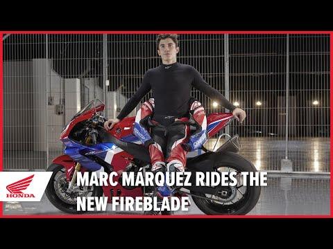 Marc Marquez rides the new 2020 CBR1000RR-R Fireblade SP