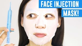 Face Injection Mask?!  || TINA TRIES IT