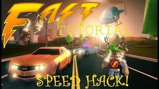 HOW TO SPEED HACK AUGUST 30 2018