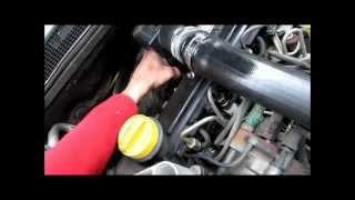 nettoyage vanne EGR moteur Renault 1.5 DCI (method to clean EGR valve) partie 2 sur 3