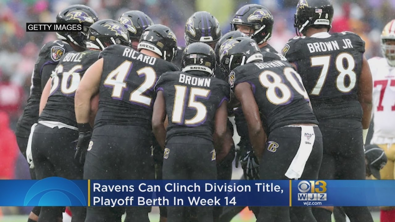 Lamar Jackson, Ravens clinch second consecutive AFC North title ...