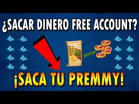 SACAR DINERO SIENDO FREE ACCOUNT - Tibia